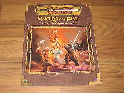D&D 3.0 / 3.5 Sword And Fist Wotc 51995 englisch Accessory 2001 Softcover