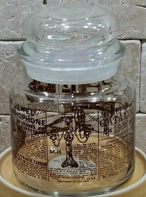 Sears Roebuck And Co 1906 Catalog Glass Jar Container Vintage Reproduction