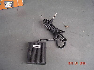 PS-25 Electronic Keyboard Sustain Pedal Made in Italy