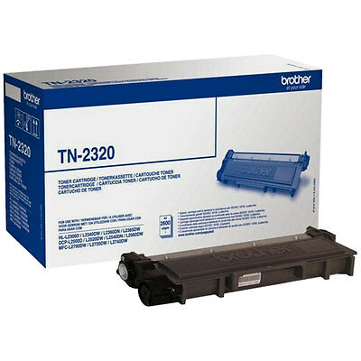 Toner Originale Brother Tn2320 Hl-L2300D 2600 Pag