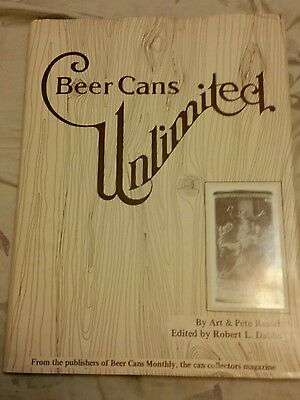 Vintage Beer Can Book  1980 Beer Cans Unlimited