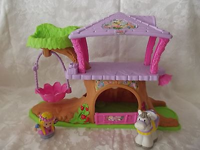 Fisher Price Little People Fairy Tree House With 1 Person And Horse