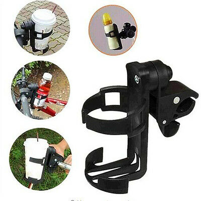 1PC Black Baby Stroller Bottles Water Cup Bicycle Bottle Holder Rack Cage Snack