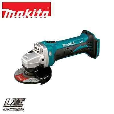 "Makita - 18V Lithium-Ion 115mm (4.5"") Compact Angle Grinder - DGA452 - Tool Only"