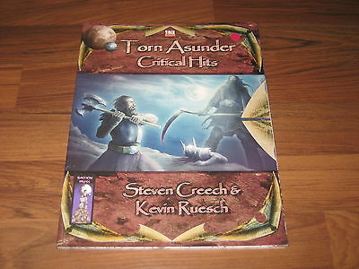 d20 Torn Asunder Critical Hits Accessory Softcover Bastion Press BAS1013