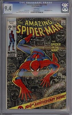 Amazing Spider-Man #100 - CGC Graded 9.4