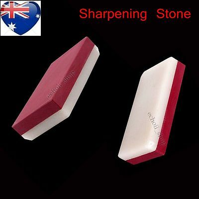 3000#&10000# Dual Grit Craft Knife Red Sharpening Stone Water Whetstone AU STOCK
