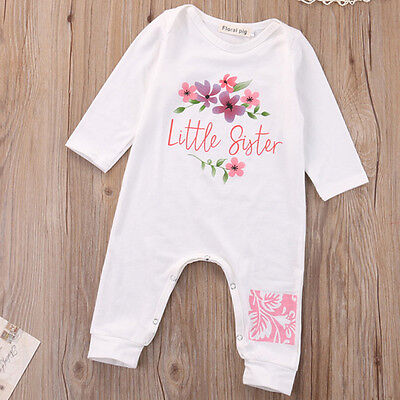 Newborn Kids Romper Infant Girls Bodysuit Baby Boys Outfits Jumpsuit Clothes Set