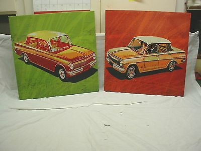 AWESOME Automobile Art Print Wall Hangings GREAT 4 Your Office or Man Cave COOL