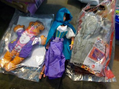 Set of 3 large fast food toys premiums Blockbuster Muppets, Anesthesia, Hugo