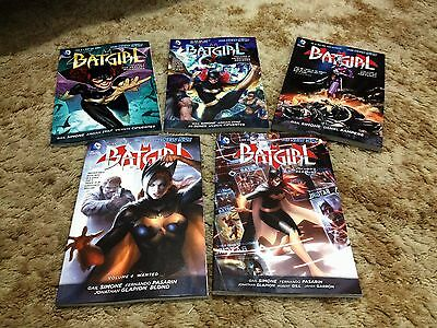 Batgirl DC Comics New 52 Volume 1 2 3 4 5 Gail Simone AS NEW