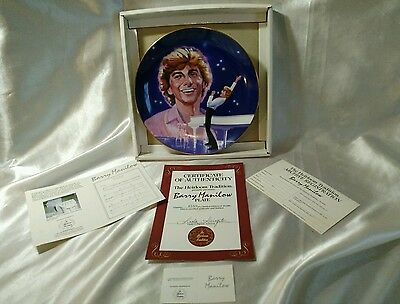 BARRY MANILOW HEIRLOOM TRADITION PLATE COPACABANA # 4588 Year 1984 Collector