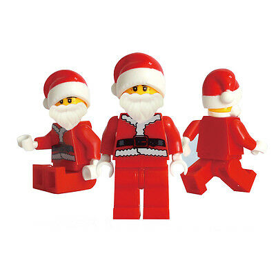 5 Pcs ABS Christmas Santa Claus Building Blocks Kids Toys for Children Gifts