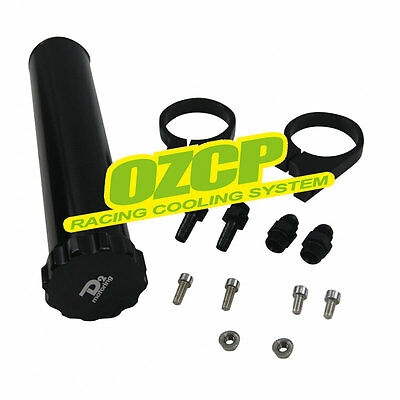 """PERFECT FOR 8.5"""" 550ml Billet Radiator Coolant Overflow Recovery Expansion Tank"""