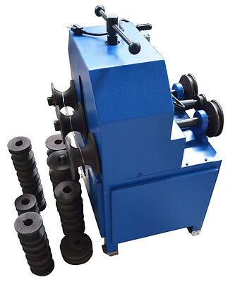 """110V 1500W Electric Tube Pipe Bender Roller Round-5/8-3"""" Square-5/8-2"""" 1400 RPM"""