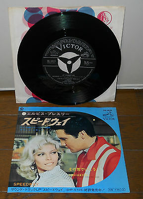 Elvis Presley Let Yourself Go original Japan single Victor SS-1818 nancy sinatra