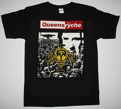 Queensryche Operation Mindcrime 1988 Progressive Metal NEW Black T-Shirt
