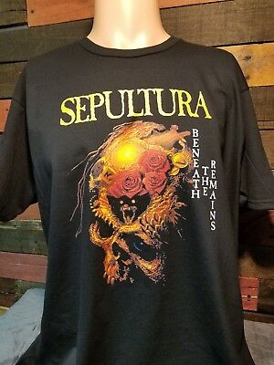Sepultura Beneath The Remains Black T-shirt
