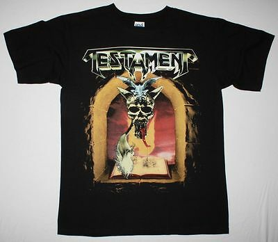 "Testament ""The Legacy""  Black T-Shirt Bay Area Thrash Metal"