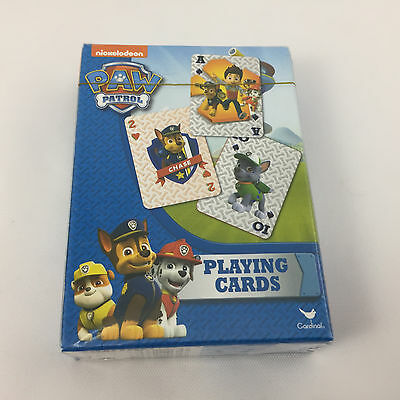 Nickelodeon Paw Patrol Kids Playing Cards Party Favor Go Fish Solitaire Old Maid
