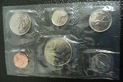 Canadian 1983 Uncirculated Proof Like 6 Coin Set