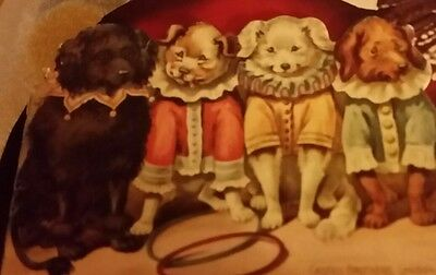 Miniature Illustrated Booklet-Dogs At Home-1981-London-Castile Bar Soap Ad