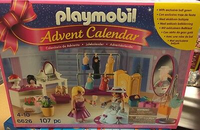PLAYMOBIL® 6626 Advent Calendar Dress Up Party - NEW & FREE SHIPPING