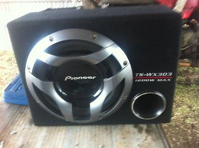 Car sub woofer amp 1200w pioneer sub and amp
