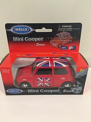 U.K. Red Mini Cooper Model Car