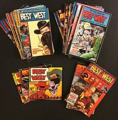 BEST OF THE WEST Comic Books WESTERN HERO Autry ROGERS Haunted Horseman REDMASK