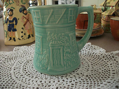 Pale Green Price Bros Cottage Ware Jug Rare And Collectable 5 Inches High