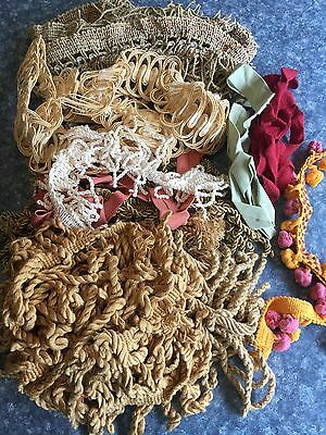 Mixed Lot Of Braid Craft Sewing