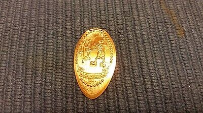 Disney Pressed Penny Steamboat Willie Mickey Mouse Magic Kingdom