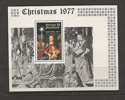 Grenada - 1977 - Christmas - Navidad**- Paintings - Ms. Mnh