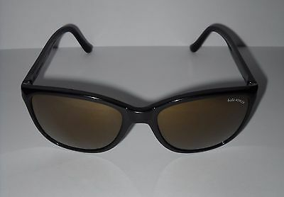 Bolle Acrylex Black Sunglasses with Gold Mirrored Lenses 413 Frame France