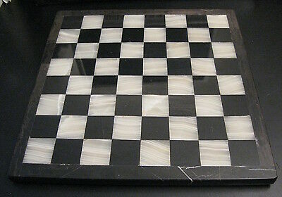 Vintage? MARBLE CHESS BOARD! Amazing!