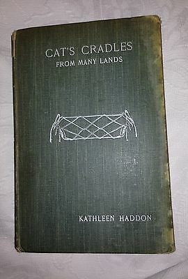 Cat's Cradles from Many Lands 1911, by K. Haddon, illustrated