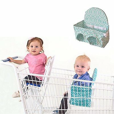 Buggy Bench seat = Double Shopping Cart! (Seafoam Green) Available in 3 Other