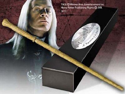 Harry Potter Wand Lucius Malfoy (Character-Editon) Replica By Noble Collection