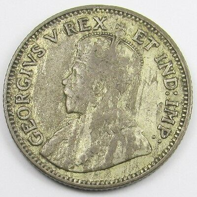 EAST AFRICA  - KING GEORGE V  FIFTY CENTS / HALF SHILLING COIN dated 1922