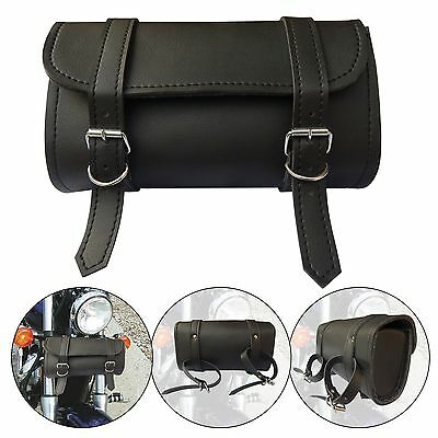 ARD CHAMPS™ Motorcycle Front Forks Vintage Style Waterproof PU Leather Tool Bag