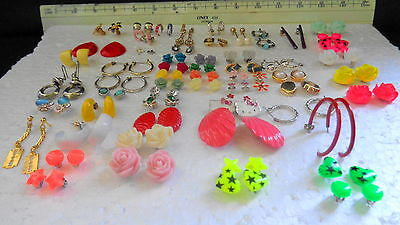 Bulk Lot Vintage to Recent Smaller Pairs Earrings (Over 50 pairs)