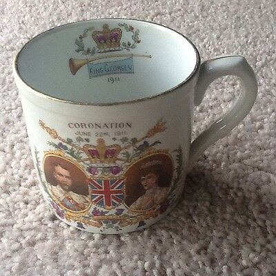 King George V & Queen Mary Coronation Cup 1911 - Collectable