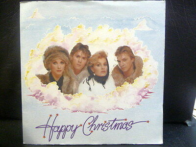 "Bucks Fizz "" Happy Christmas Sleeve With Land Of Make Believe 45 "" Ex+ Cond."