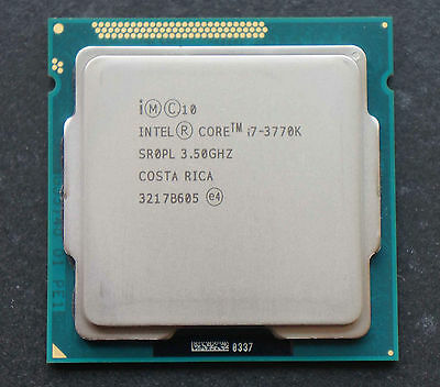 Processeur Intel Core I7 3770K 4 X 3,9 Ghz / Socket 1155