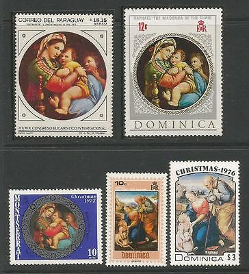 Paintings By Raphael**  Pintura.  Mnh