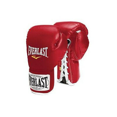 """Everlast Boxing """"1910"""" 8oz Lace Up Gloves"""