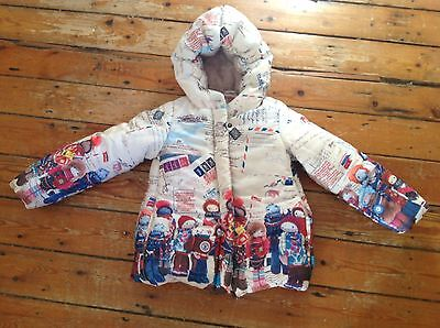 Oilily Doll Expedition NEW  winter coat age 5.