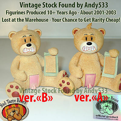 Bad Taste Bears 37 Archibald Var.B VERY RARE Vintage Out of Production Retired