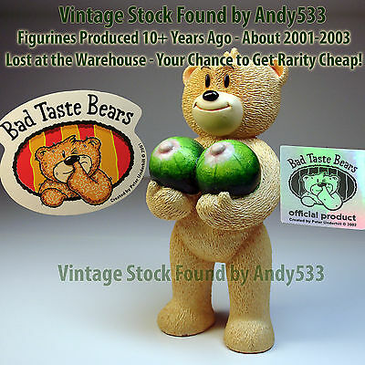 Bad Taste Bears MIB 34 Mel Dark Melons Vintage Out of Production Retired